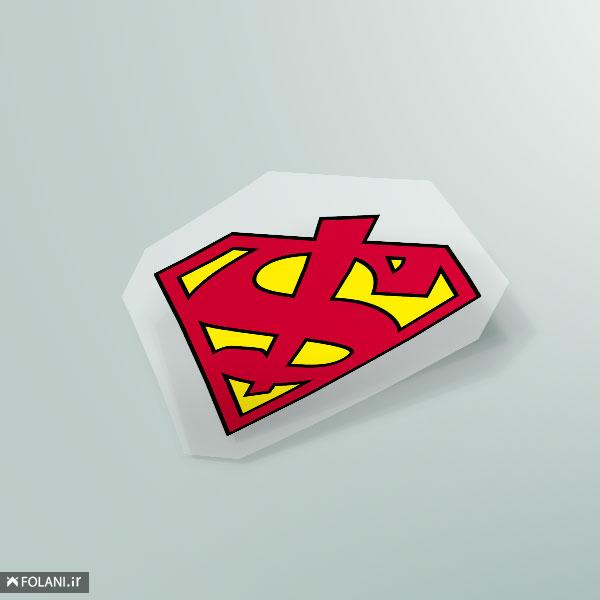 پچ T4 |  سوپرمن امروزی (پولکی) $