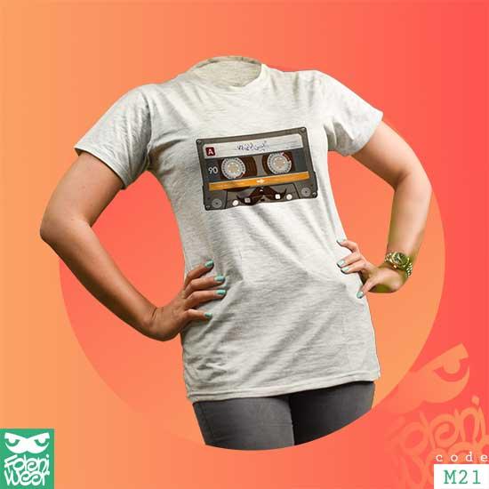 تیشرت M21  | سایز موجود: زنانه کامل / مردانه S M